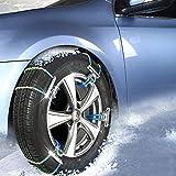 LHQ-HQ Antideslizante Snowchain Caja de Seguridad Ptotection Coche del Invierno Fácil Instalación de la Cadena del neumático de Nieve Antideslizantes la Correa de Cadena de Nieve de Emergencia ## 4