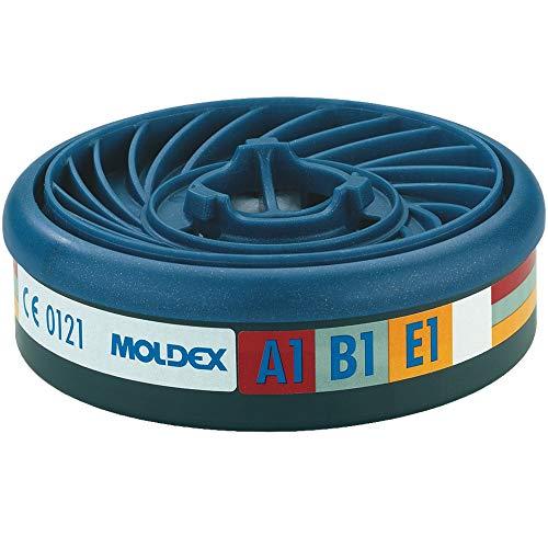 Moldex 9300Easy Lock Gas 837242Filter Patronen, Atemschutz (60Stück)
