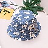 Sombrero para niños Gorra con Estampado de Verano para niños y niñas Gorros para el Sol para niños Sombreros para bebés de Dibujos Animados de 6 Meses a 8 años-a1-54cm 5-8 Years