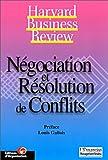 Négociation et résolution de conflits