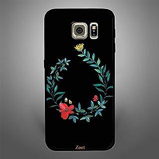 Samsung Galaxy S6 Edge Black Flower Bee, Zoot Designer Phone Covers