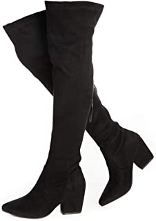 Best slim fit over the knee boots Reviews