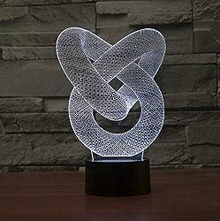 3D Tischlampe – Nachttischlampe