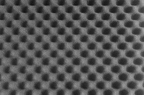 SCHAUMEX ® Noppenschaumstoff 50x30x5cm - Akustik Schaumstoff, Akustikschaumstoff, Dämmung für Tonstudio, Youtube room, In Deutschland hergestellt - 6