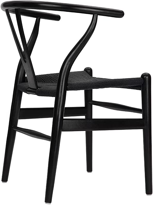 Best Wooden: Tomile Wishbone Y Chair.