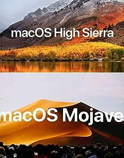 Macintosh OS X Installer - Mojave (Mac OS X.14) & HIGH Sierra (Mac OS X.13) Dual Bootable USB Flash Drive