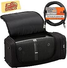 Korg KONNECT Portable Stereo PA System Bundle with Korg SC-KONNECT Soft Case, XLR Cable, and Austin Bazaar Polishing Cloth