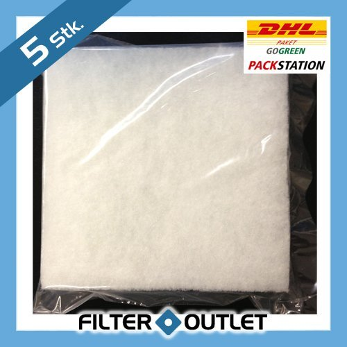 5 x Filtre pour ventilateur Maico ZF 17–145 x 145 mm – Filtres de rechange pour Eru 17 et Era 17 – de rechange Filtre – 0093.0644