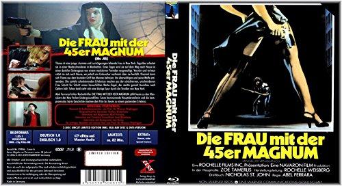 Die Frau mit der 45er Magnum - Uncut-Limited Schuber Edition - Blu-ray