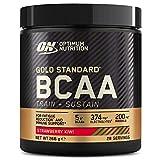 Optimum Nutrition Gold Standard BCAA Pulver, Aminosäuren Komplex Hochdosiert mit Vitamin C,...