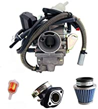 NEW GY6 (150cc) Carburetor for 150cc 125cc,152QMJ 157QMI with Air Filter Intake Manifold 4 Stroke Electric Choke Motorcycle Scooter Carburetor