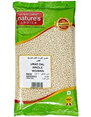 Natures Choice Lentils Urad Dal Whole Without Skin - 500 gm (Off White)