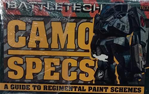FASA 1632 BATTLETECH Camo Specs A Guide TO REGGIMENTAL Paint SCHEMES