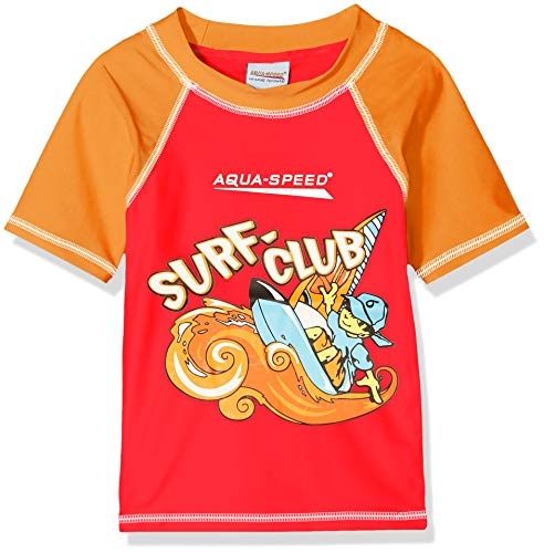 Aqua-Speed Surf-club T-shirt Jongens Zwemkleding Zwempak