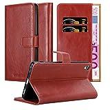 Cadorabo Funda Libro para Sony Xperia XA Ultra en Rojo Burdeos - Cubierta Proteccíon con Cierre Magnético, Tarjetero y Función de Suporte - Etui Case Cover Carcasa