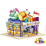 Kids' Building Blocks Cake House Toys , Building Bricks Set for Girls Age 12 and Up, Construction Play Set Educational Toys, Best Gifts for Birthday Christmas (808PCS)