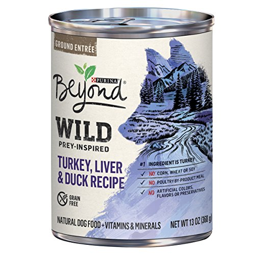 Purina Beyond WILD Grain Free Natural High Protein Non GMO, Prey-Inspired Recipe Adult Wet Dog Foodr