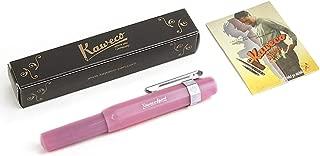 Kaweco FROSTED SPORT Fountain Pen Blush Pitaya, Fine Nib with Kaweco Sport Octagonal Clip Chrome (2019 Novelty)