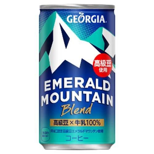 ジョージア エメラルドマウンテン 185g×30本 缶