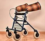 Muff/Handwärmer doppellagig für Rollator, Kinderbuggy, Fahrrad, Rollstuhl; Handschuhe Fäuslinge Paddelpfötchen Weinachtsgeschenk für Oma/Opa