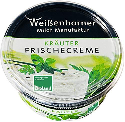 Weißenhorner Milch Manufak Bio WH MM Bioland FrischeCreme Kräuter 150g (6 x 150 gr)