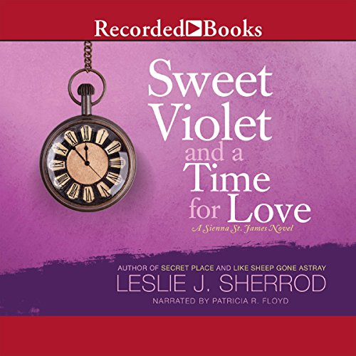 Sweet Violet and a Time for Love audiobook cover art