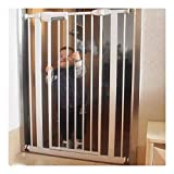 25cm Zaun!Erweiterte Pet Fence Baby-Schutzgitter for Treppen Extra Wide Automatische Treppe...