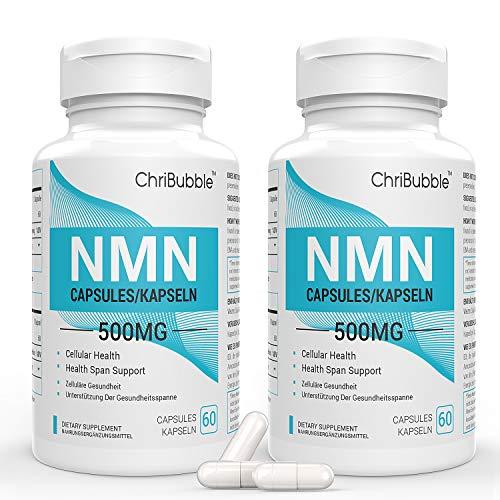 NMN Suplementos   500 mg por cápsula   Potente aumento de los...