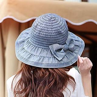 DUOLUO 春と夏の女性の日焼け防止衣類屋外日焼け止め日焼け止め折りたたみ布帽子の韓国語バージョン