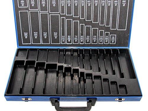 SYTO24, Leerbox für Bohrer-Set (230tlg.) Spiralbohrer Metallbohrer Stahlbohrer 1-13mm, Aufbewahrungsbox