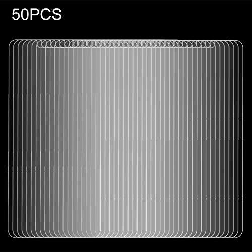 YUNCHAO Tempered glass film 50 PCS for ZTE Zmax Pro 0.3mm 9H Surface Hardness Explosion-proof Non-full Screen Tempered Glass Screen Film, No Retail Package Film for cell phone