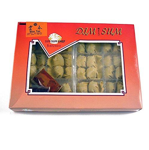 Wan Tan - Won Ton Teigtaschen mit Schweinefleisch/ Shrimps/ Gemüse, TK, 720g, 48 x 15g.