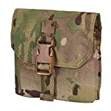 Chase Tactical Single 7.62 Cal Mag Pouch – Holds Single SCAR H, SR25, G3, H&K 417, M14 Mags – Military Specific, 500D Cordura Material – For Law Enforcement, Combat Training, Medical, Unisex, Multicam