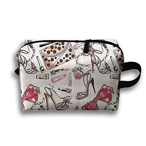 Damen Schuh Creme Parfüm Tasche wasserdichte Tasche und wasserdichte Make-up Tasche Travel Art Bag