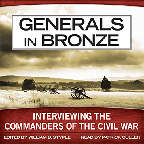 Generals in Bronze audiobook cover art