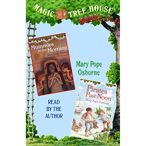 Magic Tree House: Books 3 and 4 audiobook cover art