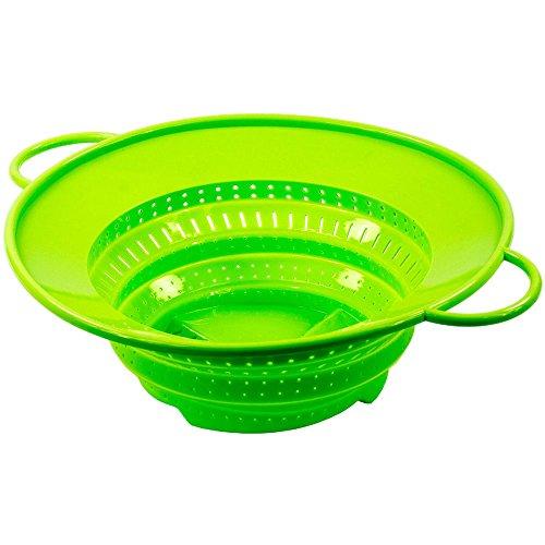 Mannibest Kochwunder - Kochsieb zum Dampfgaren und Kochen (Grün)