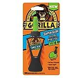 Gorilla Micro Precise Super Glue Gel, 5.5 gram, Clear, (Pack of 1)