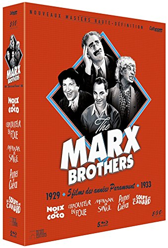 Marx Brothers - Coffret 5 Films [Francia] [Blu-ray]