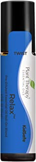 Plant Therapy Essential Oil | Relax Synergy | Sleep & Stress Blend | 100% Pure, Pre-Diluted Roll-On, Natural Aromatherapy,...