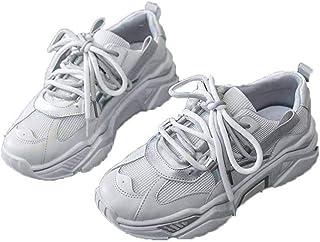 Dames Jogging Schoenen Beknopt Platform Outdoor Antislip Sneakers Zomer Herfst Ademend Mesh Zoete Stijl Sportschoenen