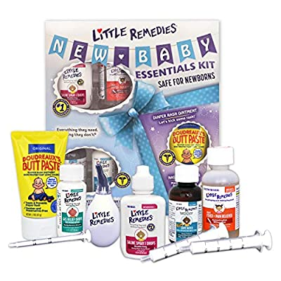 Little Remedies New Baby Essentials Kit, Baby Gift Set by Medtech Product Inc.