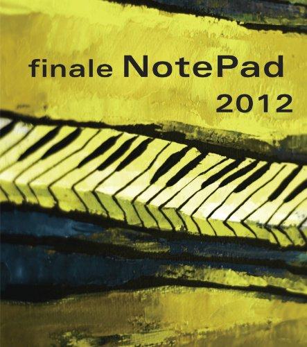 Finale NotePad 2012 Deutsch, Notensatz, Notationssoftware