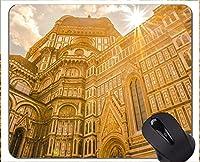 滑り止めのゴム製賭博のマウスパッド、フィレンツェの仏像の自由なゴム製マウスパッド