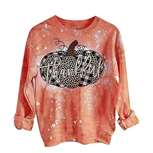 Jersey de Halloween para mujer, elegante, camiseta de manga larga, camiseta de Navidad, bloque de color, blusa, blusa, tops, sexy, disfraz de Halloween para mujeres regalo, marrn, XXL,