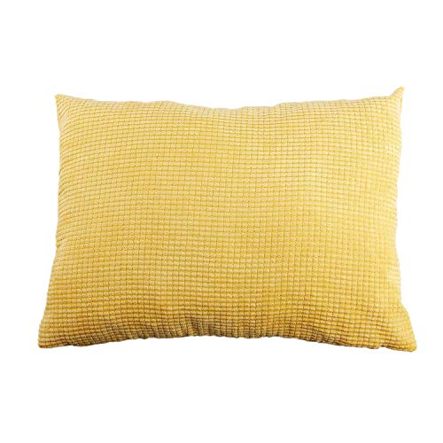 Fanuse Maisk?Rner Docht Baumwolle Platz Wohnkultur Werfen Sofa Auto Kissenbezug Kissenbezug 40 x 40 cm Gelb