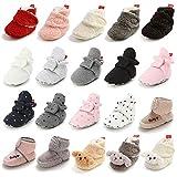 Timatego Newborn Baby Boys Girls Booties Stay On Socks...