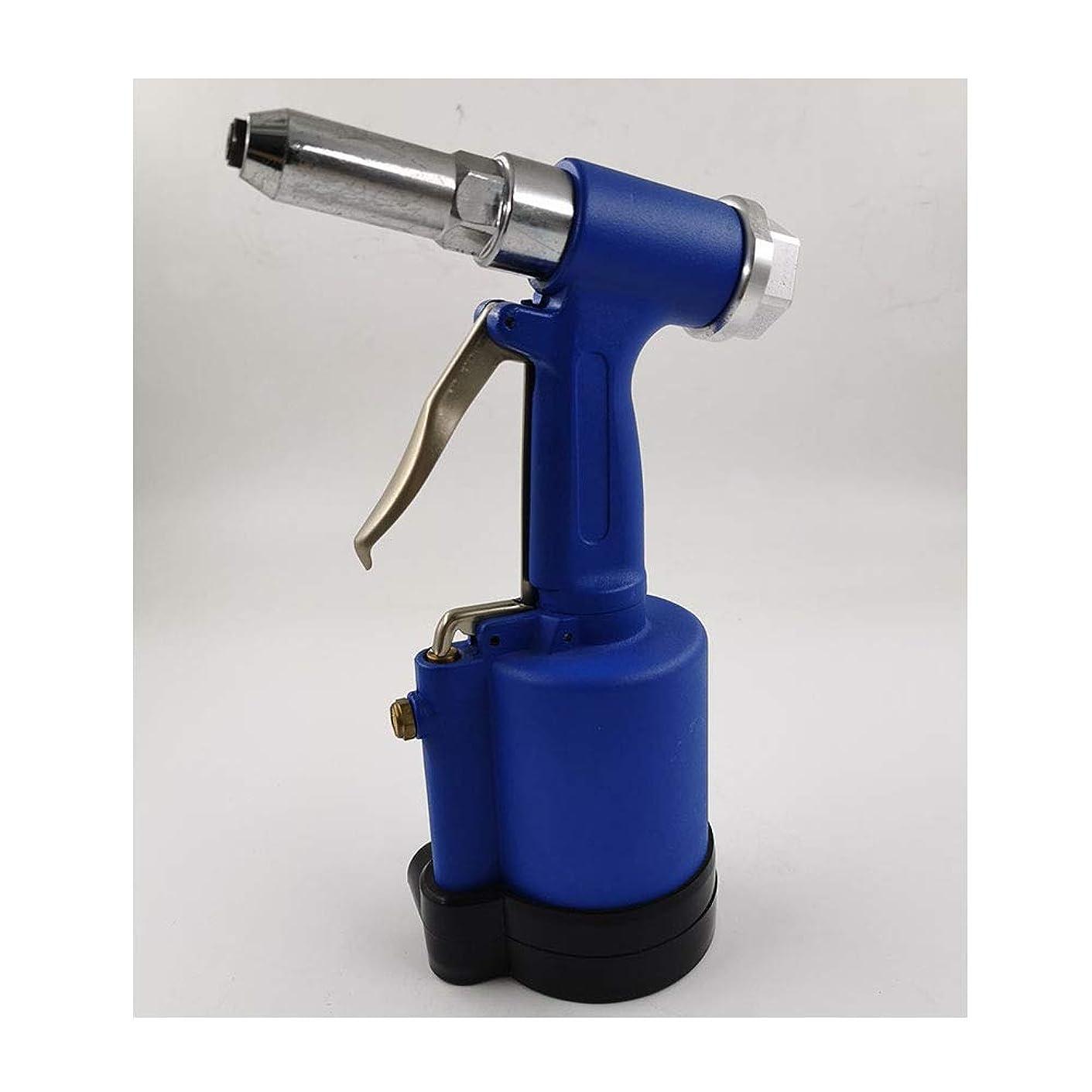 クマノミ眉をひそめる不健全エア工具 空気圧リベットガン垂直、省力化産業グレードハンドツール ハンドツール (Color : Blue)