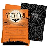 Halloween Party Invitation Cards and Envelopes, 12 Count