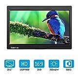 Koolertron 10.1 inch CCTV Monitor 1024 * 600 Speaker LCD Monitor with HDMI/VGA/AV Port Support 1080P for DSLR/PC/CCTV Camera/DVD/Home Office Surveillance Secure System